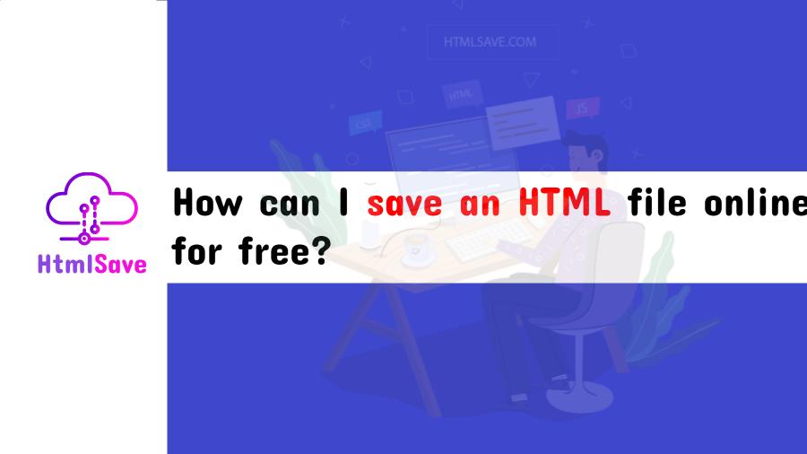 save html